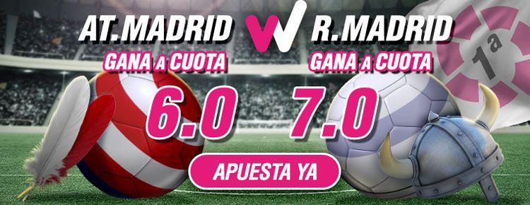 Previa del partido Atlético de Madrid - Real Madrid