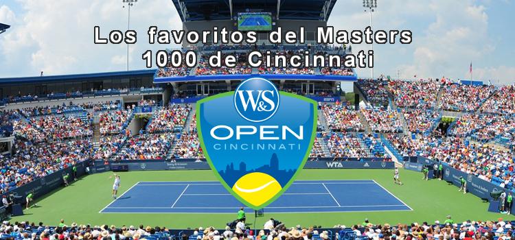 Los favoritos del Masters 1000 de Cincinnati