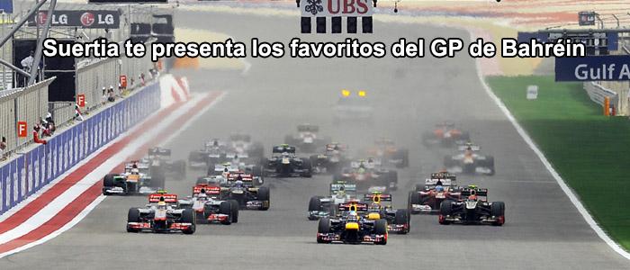 Suertia te presenta los favoritos del GP de Bahréin