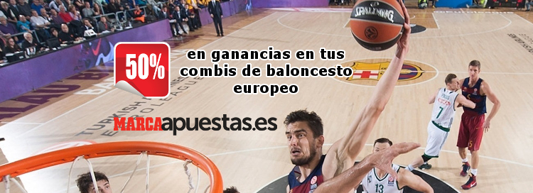 Gana 50% más en tus combis de Basket Europeo