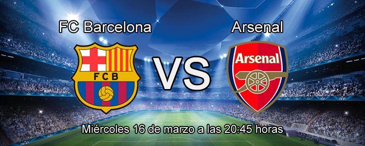 Apuesta con Luckia en el partido FC Barcelona - Arsenal