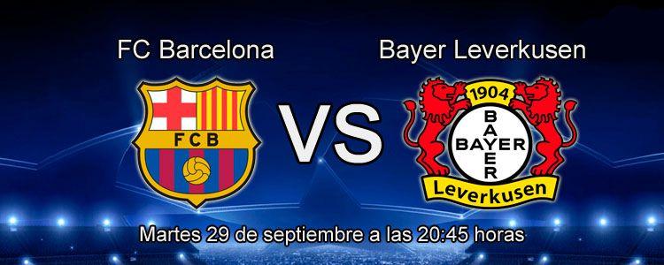Apuesta por la victoria de Barcelona ante el Bayer Leverkusen