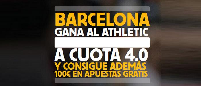 Súpercuota por la victoria de Barcelona contra Athletic