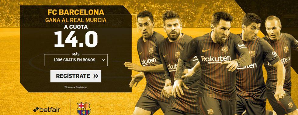 Barcelona y Murcia se enfrentan en la Copa del Rey