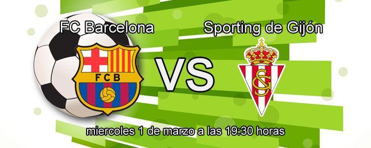Previa del partido Barcelona - Sporting de Gijón