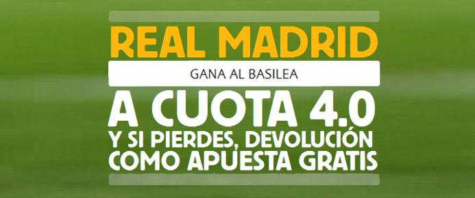 Betfair te presenta la Súper Cuota del partido Basilea - Real Madrid