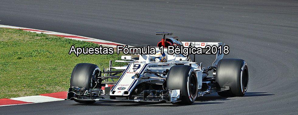 Apuestas Fórmula 1 Bélgica 2018