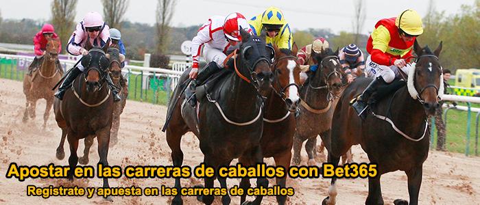 Apostar en las carreras de caballos con Bet365