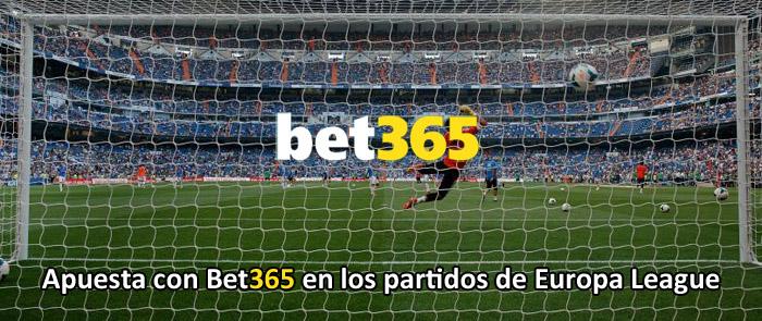 Apuesta con Bet365 en los partidos de Europa League