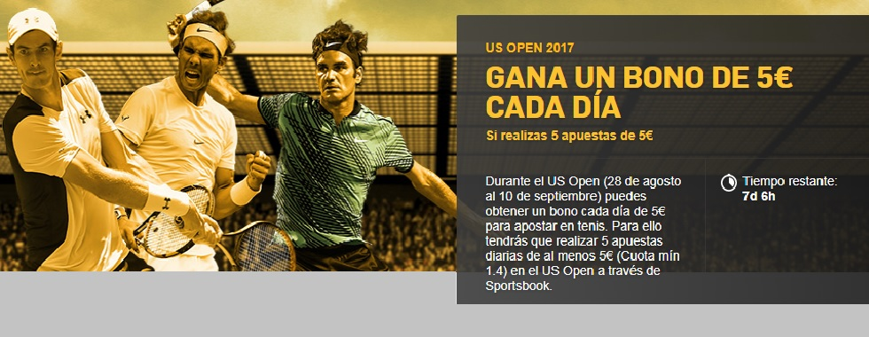 Apuesta al US Open con Betfair
