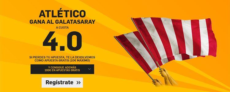 Supercuota por la victoria de Atletico ante el Galatasaray