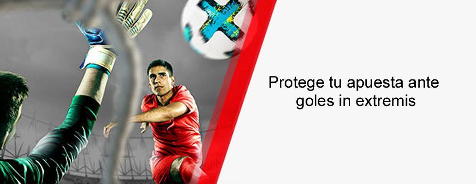 Protege tu apuesta ante goles in extremis