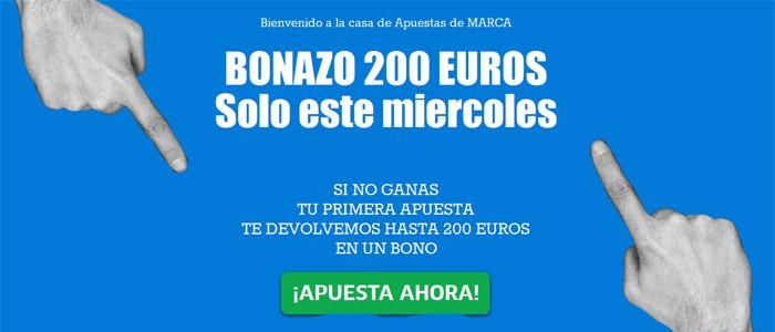 Marca Apuesta ofrece un nuevo bono de hasta 200 euros