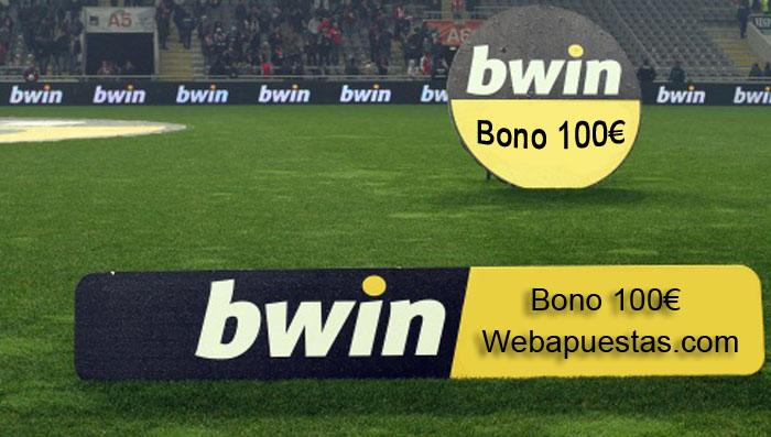 Bwin Bono de bienvenida exclusivo de 100€
