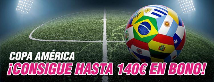 Consigue hasta 6 bonos gratis en la copa America