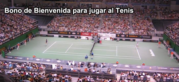 Bono de Bienvenida para jugar al Tenis