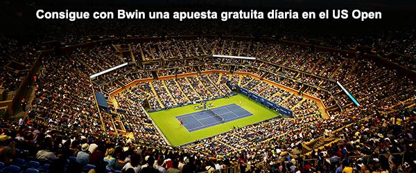 Consigue con Bwin una apuesta gratuita diaria en el US Open 2014