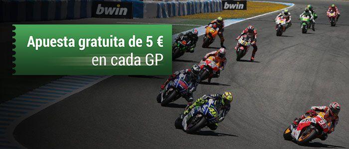 Gane una apuesta gratuita de 5 euros en cada carrera de MotoGP 2015
