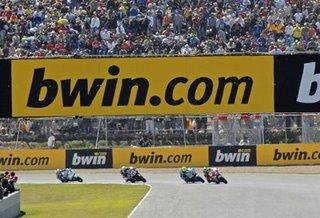 Bwin: Renueva su patrocinio con Moto GP