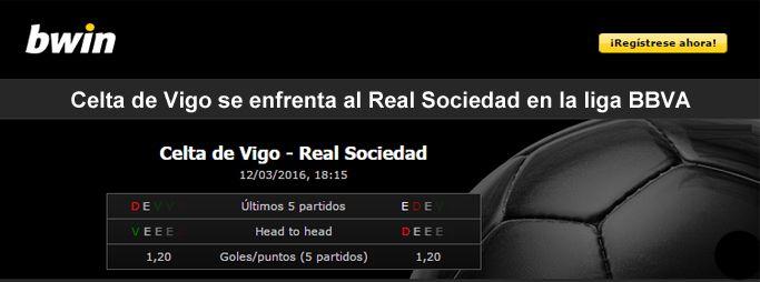 Celta de Vigo se enfrenta al Real Sociedad en la liga BBVA