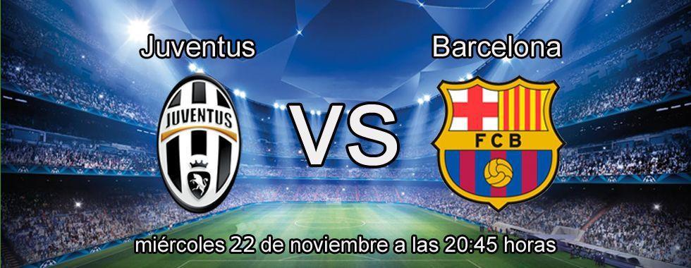 Apuesta con Bwin en el partido Juventus - Barcelona