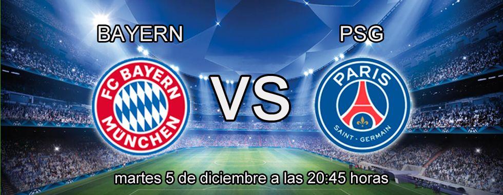 Previa y apuestas Champions: Bayern Munich - PSG