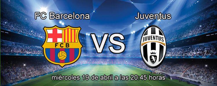 Apuesta con Bet365 en el partido Barcelona - Juventus