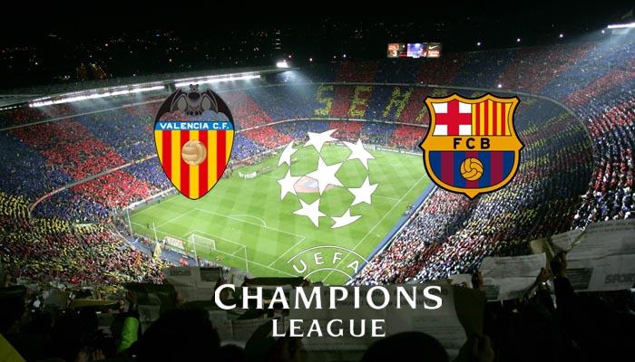 Apostar por Barcelona o Valencia en Champions League