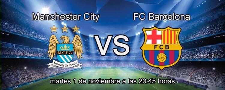Previa del partido Manchester City - FC Barcelona
