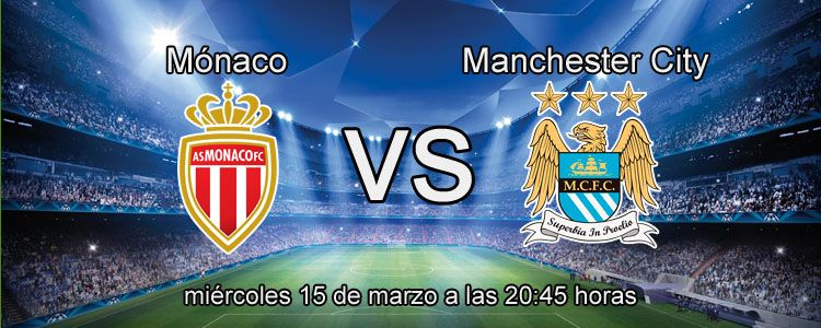 Apuesta con Bet365 en el partido Mónaco - Manchester City