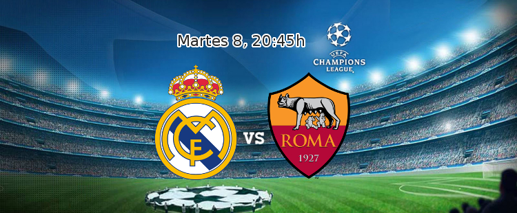 Apuesta con William Hill en el partido de Champions: Real Madrid - AS Roma
