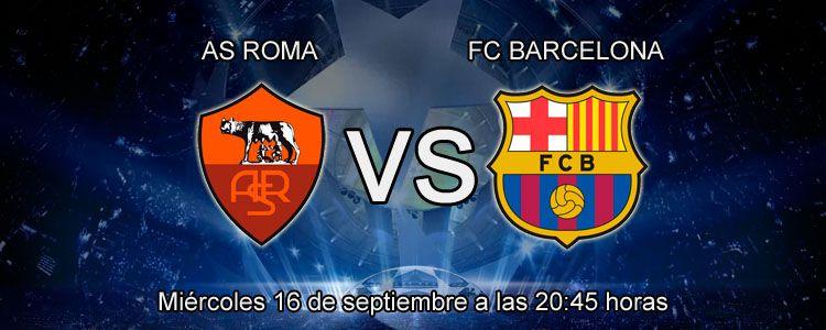 Previa partido Roma vs FC Barcelona - Champions League 2015-16
