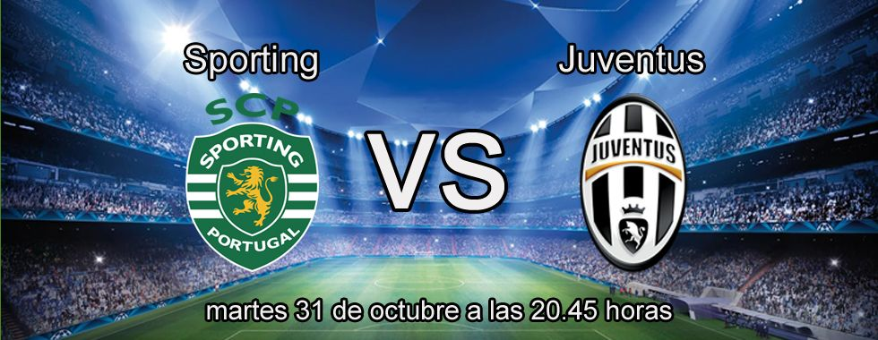 Consejos para apostar en el partido Sporting - Juventus