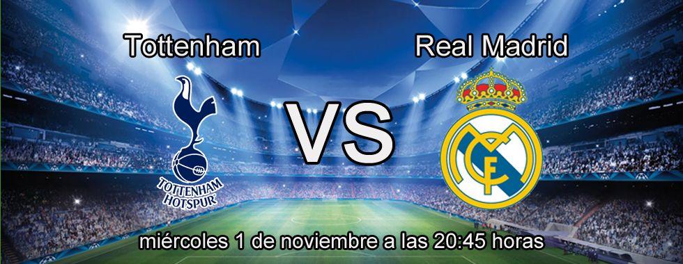 Apuesta con Circus en el partido Tottenham - Real Madrid