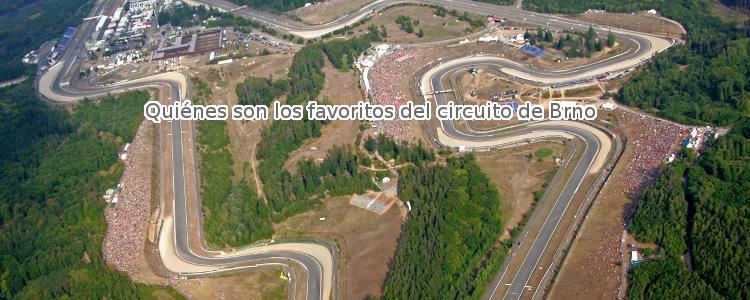 Quiénes son los favoritos del circuito de Brno