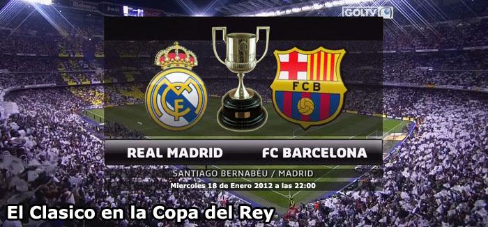 El Clasico en la Copa del Rey