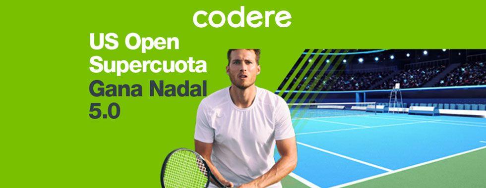 Apuesta con Codere en el US Open 2018