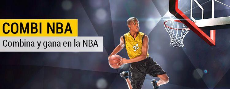Haz tu apuesta combinada con Bwin en los partidos de NBA