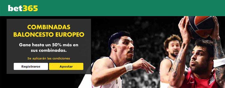 Apuestas combinadas de baloncesto europeo