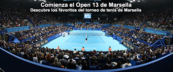 Comienza el Open 13 de Marsella