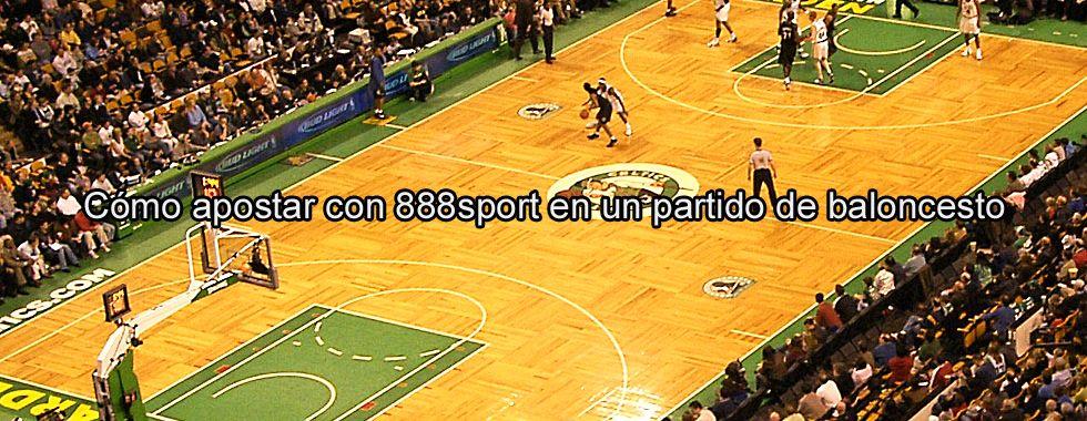 Cómo apostar con 888sport en un partido de baloncesto