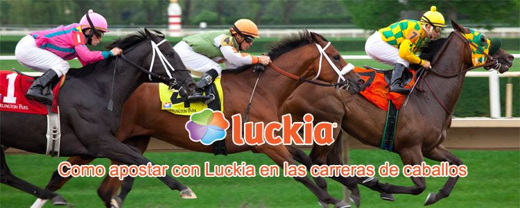 Como apostar con Luckia en las carreras de caballos