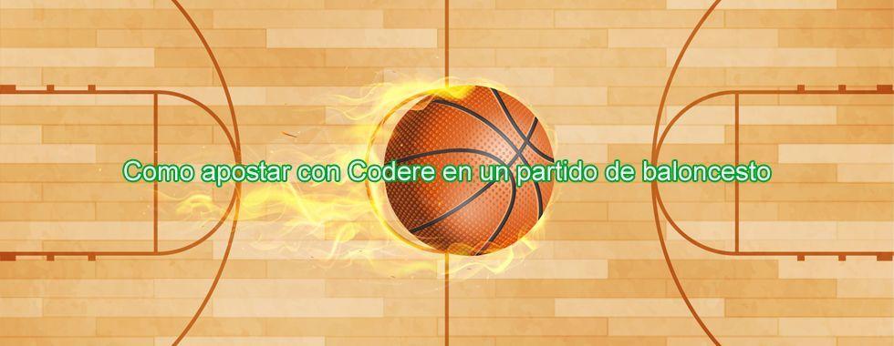 Apuesta al baloncesto con Codere
