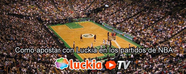 Apuesta con Luckia en los partidos de NBA