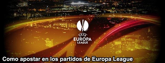Como apostar en los partidos de Europa League