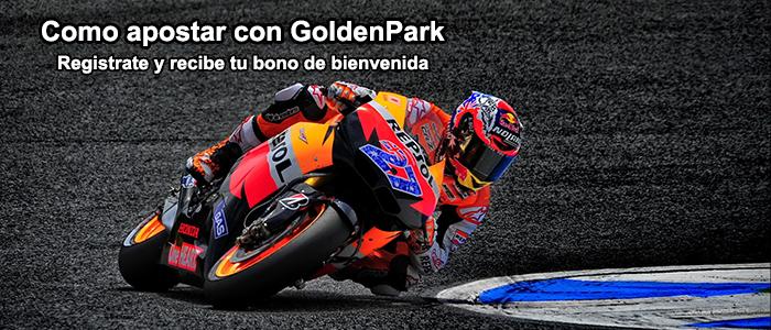 Como apostar con GoldenPark