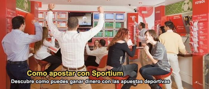 Como apostar con Sportium