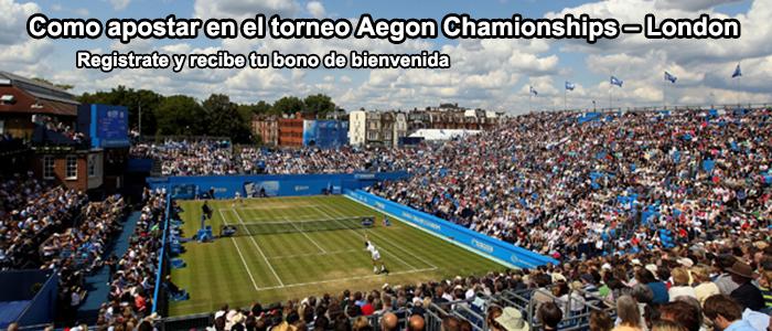 Apuestas torneo Aegon – Londres