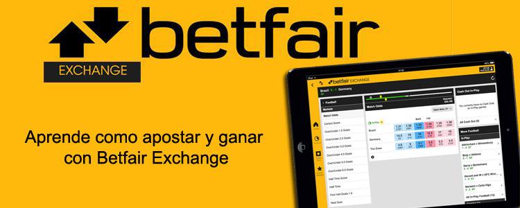Como apostar y ganar con Betfair Exchange