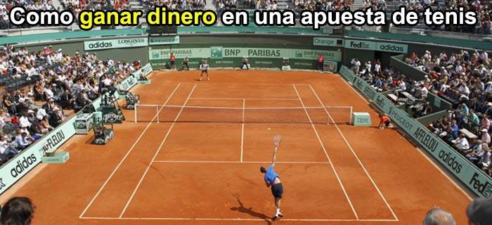Como ganar dinero en una apuesta de tenis